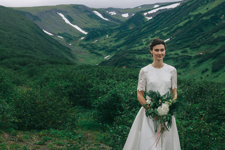 Свадьба на Камчатке