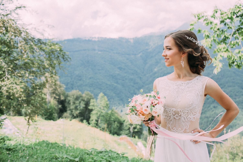 Свадьба в горах Сочи, Красная Поляна, Роза Хутор