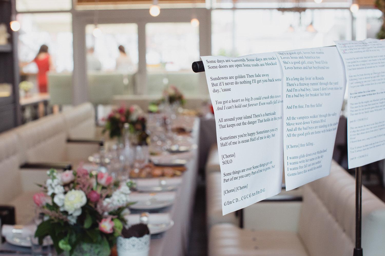 свадьба в ресторане на патриарших прудах