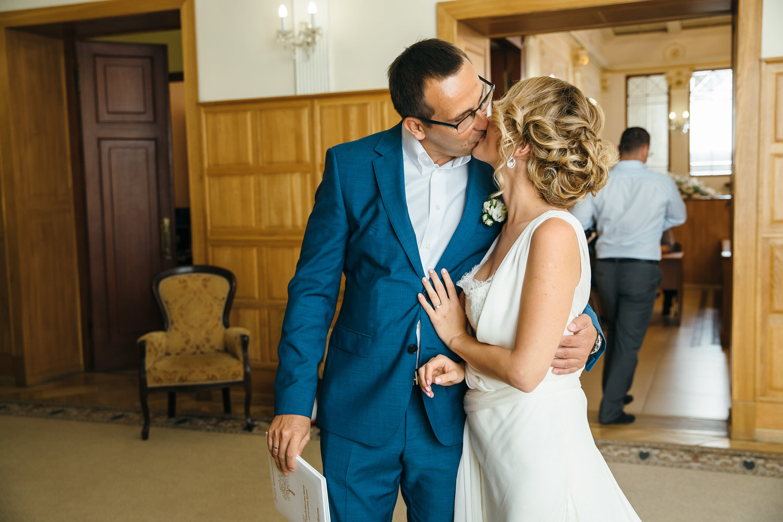 семейная свадьба в москве