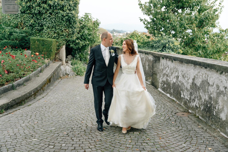 свадьба в цюрихе на озере в швейцарии