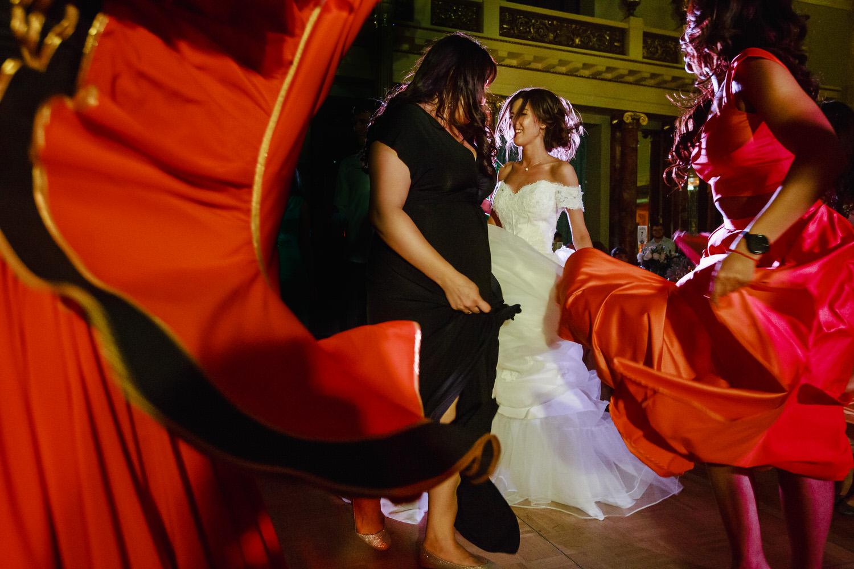 Свадьба в метрополе