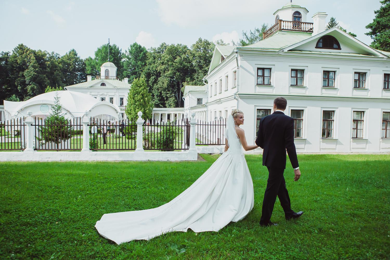 свадьба в шатре усадьбы середниково